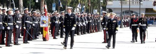 El príncipe Felipe en Cartagena