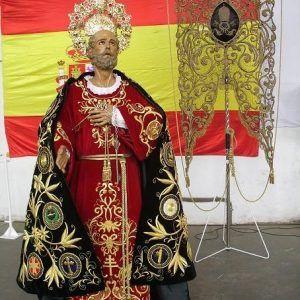 San Pedro preparándose