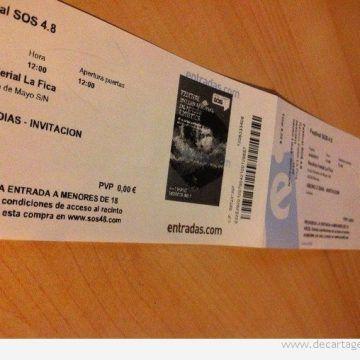 DeCartagena te invita al Festival SOS 4.8