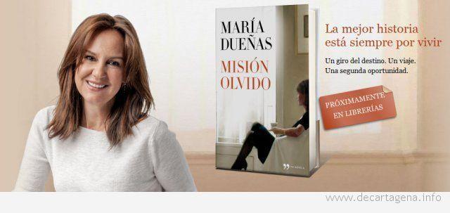 María Dueñas, enamorada de Cartagena
