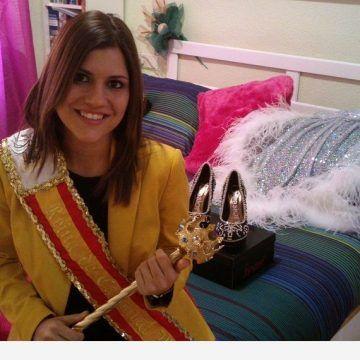 """M. Aurora García: """"Ser Reina me está descubriendo muchas cosas de las fiestas"""""""