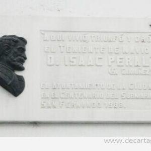 Aquí vivió Isaac Peral