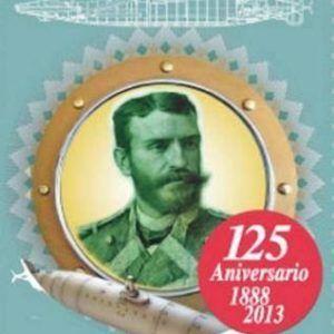 Sello por el 125 aniversario de Isaac Peral