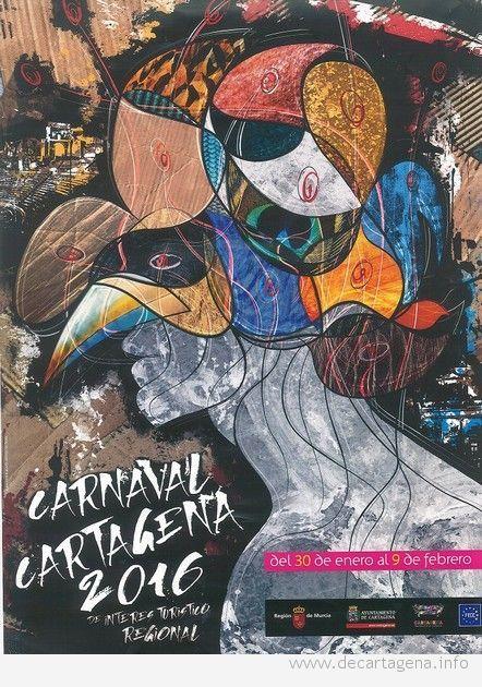 Cartel carnaval Cartagena 2016