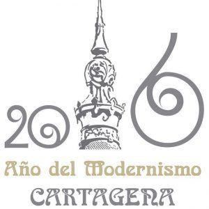 Año del modernismo en Cartagena – Logo
