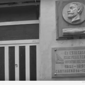 La casa de Isaac Peral ya es patrimonio de Cartagena