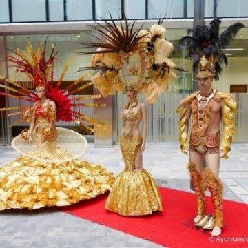 Los mejores trajes del Carnaval en exposición – Carnaval de Cartagena 2016